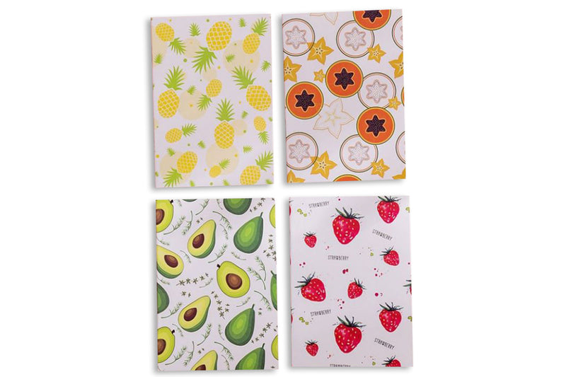 Fruits Design Small Notebook NOTEBOOKS One Dollar Only