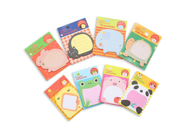 Cartoon Animal Theme Memo Notepad NOTEPADS One Dollar Only