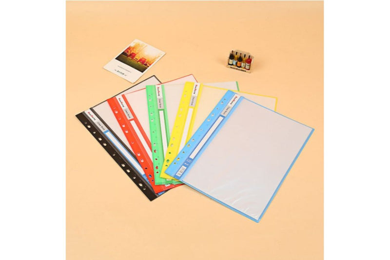 A4 Pocket File Clear Holder FILES FOLDERS One Dollar Only
