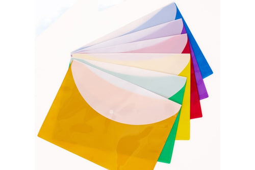 PP Solid Color File Folder (Pack of 12) Files and Folders One Dollar Only