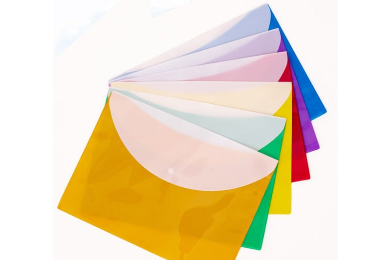 PP Solid Color File Folder (Pack of 12) FILES FOLDERS One Dollar Only