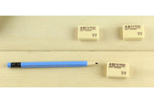 Soft 4B Drawing Pencil Eraser Erasers One Dollar Only