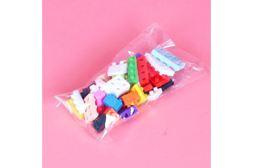 Lego Block Design Erasers Erasers One Dollar Only