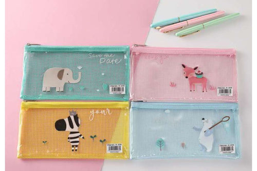 PC Cute Cartoon Animal Design Zip Case Cases One Dollar Only