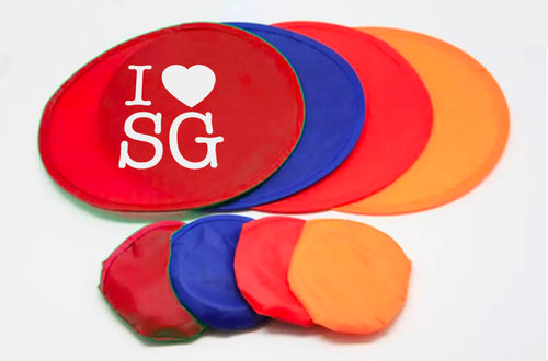 Foldable Frisbee Fan Games and Toys One Dollar Only