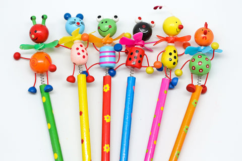 cute animal cartoon pencil