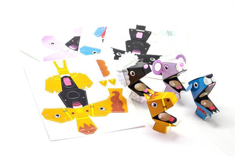 finger puppet diy kit