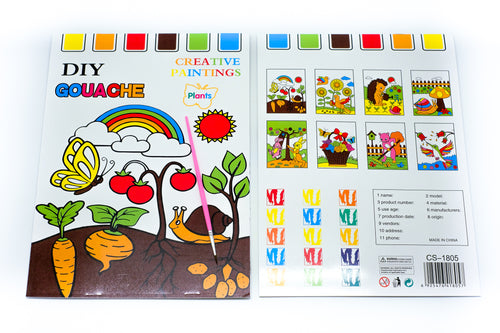 8 Sheet All in One Watercolour Set - NEW COLOURING MATERIALS One Dollar Only