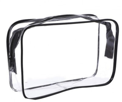 Premium Translucent Travel Toiletries Bag Bags One Dollar Only