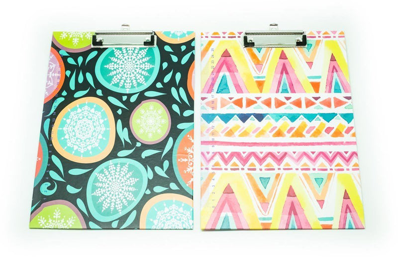 Geometric Design Clipboard Files and Folders One Dollar Only
