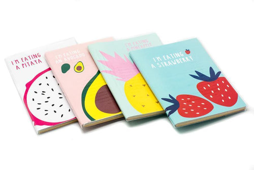 Large Monthly Notebook Planner Fruit Theme Notebooks One Dollar Only