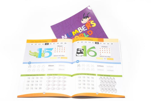 Learning About Numbers Book BOOKS One Dollar Only
