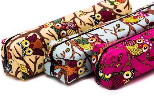 Owl Themed Pencil Case Cases One Dollar Only