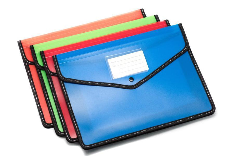 Premium A4 Folder with Expandable Sides Files and Folders One Dollar Only