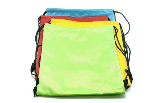 Premium Quality Nylon Drawstring Activity Bag Bags One Dollar Only