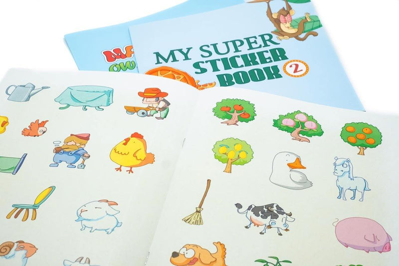 Sticker Activity Book Stickers One Dollar Only