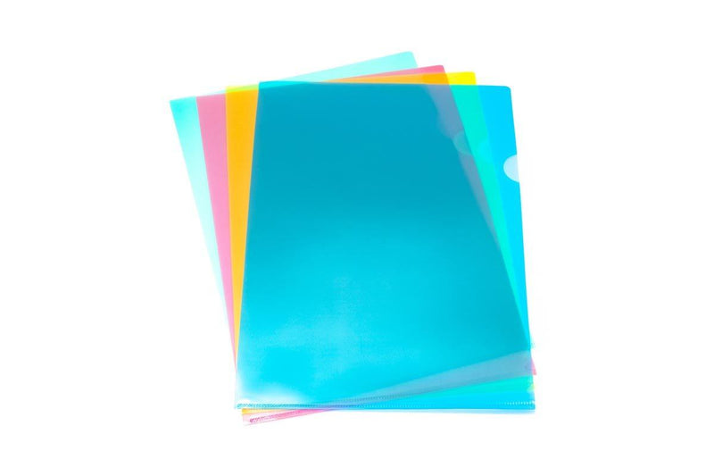 Translucent L Folder (Pack of 12) Files and Folders One Dollar Only