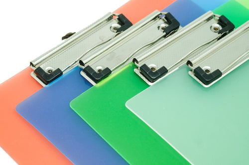 Translucent PP Clipboard Files and Folders One Dollar Only