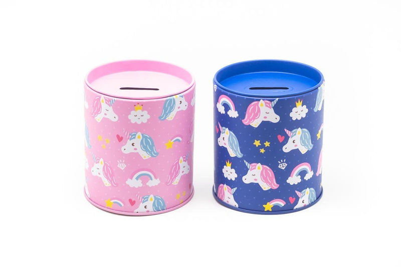 Unicorn Design Coin Box Gift Ideas and Novelties One Dollar Only
