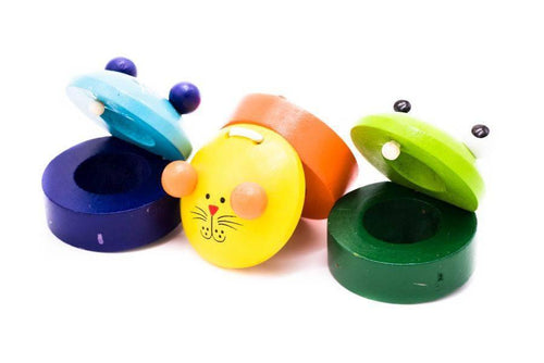 Wooden Castanets Games and Toys One Dollar Only