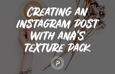 Texture Tutorial - Creating an Instagram Post in Photoshop