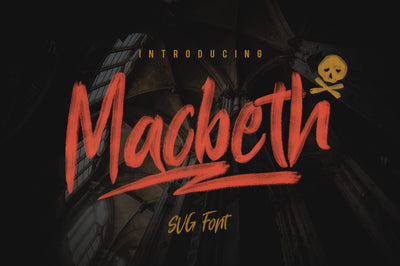 Macbeth - Free SVG Font - Pixel Surplus