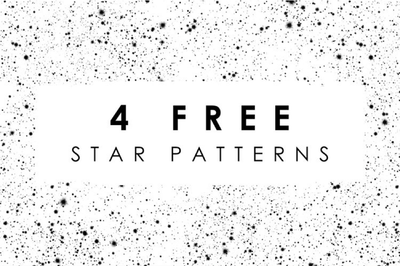 4 Free Star Patterns - Pixel Surplus