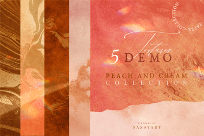5 Free Peach and Cream Textures - Pixel Surplus