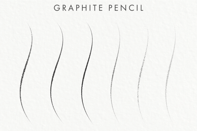 Free Graphite Pencil Photoshop Brushes - Pixel Surplus