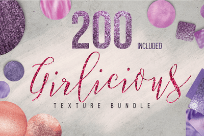 10 Free Girlicious Texture - Sample Pack - Pixel Surplus