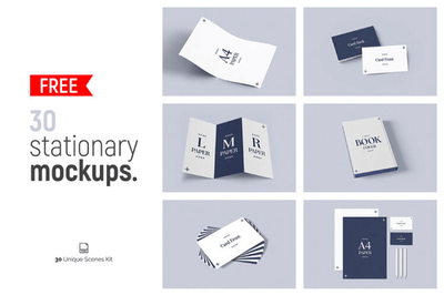 30 Free Stationery Mockups - Pixel Surplus