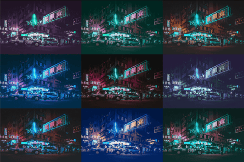 Free Cyberpunk Photoshop Actions - Pixel Surplus