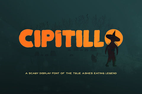 Cipitillo - Free Display Font - Pixel Surplus