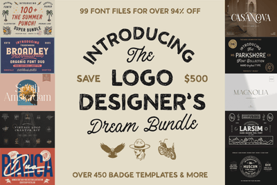 The Logo Designer's Dream Bundle - Pixel Surplus