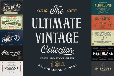 The Ultimate Vintage Collection - Pixel Surplus