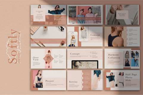 Softly - Free Modern Keynote Template