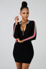 Boo'd Up Dress (Black)
