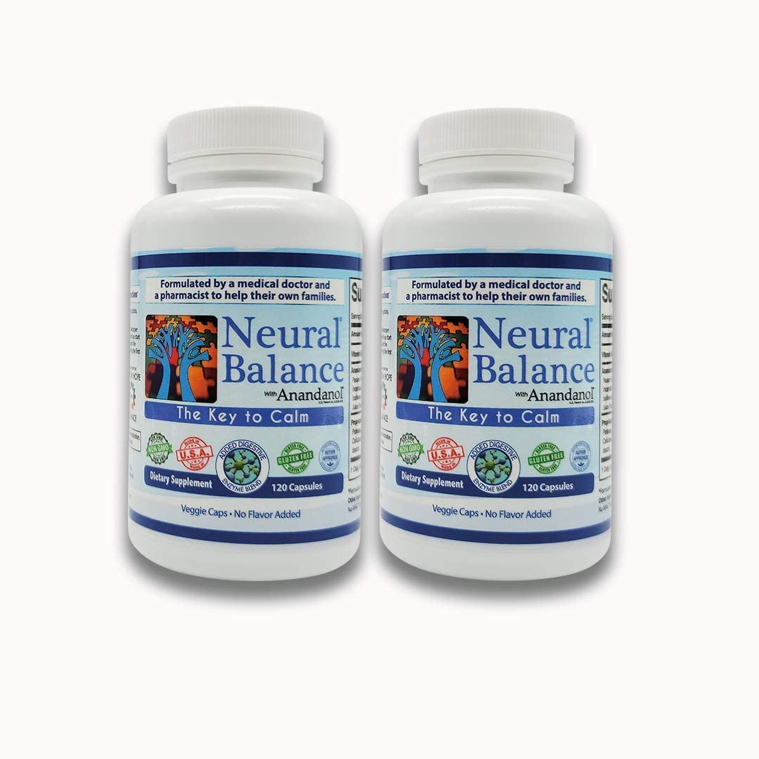 Spectrum Research Neural Balance Capsules with Anandanol120 Count