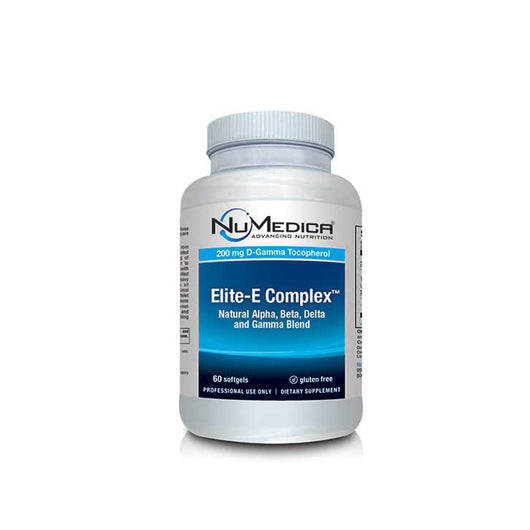 NuMedica Elite E Complex Natural Tocopherols for Antioxidant protection 60 softgels