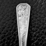 Puppy Baby Spoon by Webster (Sterling) - Geared Up Pup