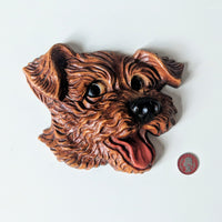 Puppy Wall Plaque - Geared Up Pup