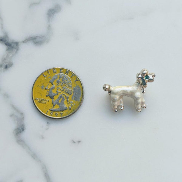Pearlescent Poodle Pin - Geared Up Pup