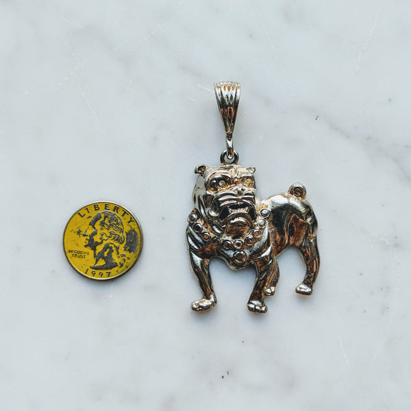 Bulldog Pendant - Geared Up Pup