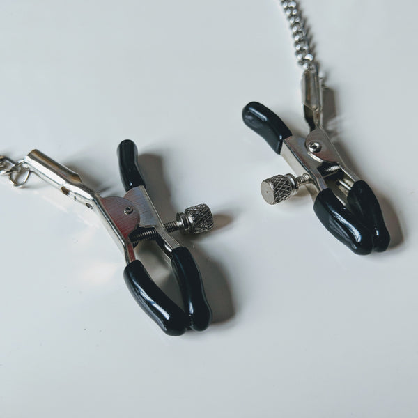 Spring Jaw Adjustable Nipple Clamps - Geared Up Pup
