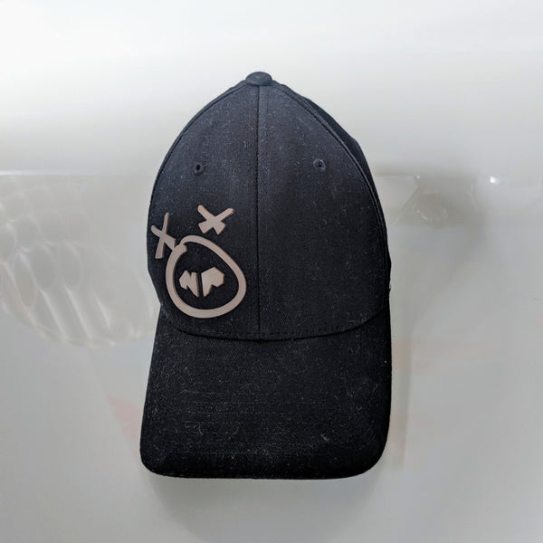 Nasty Pig Old Snout Cap-Gray on Black - Geared Up Pup