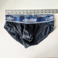 Aussiebum briefs, slate gray, small - Geared Up Pup