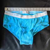 Calvin Klein briefs, teal, size 36 - Geared Up Pup