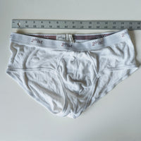 2(x)ist Briefs-White-X-Large - Geared Up Pup