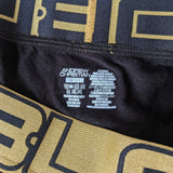 Andrew Christian BLOW! Briefs-Black With Gold Band - Geared Up Pup