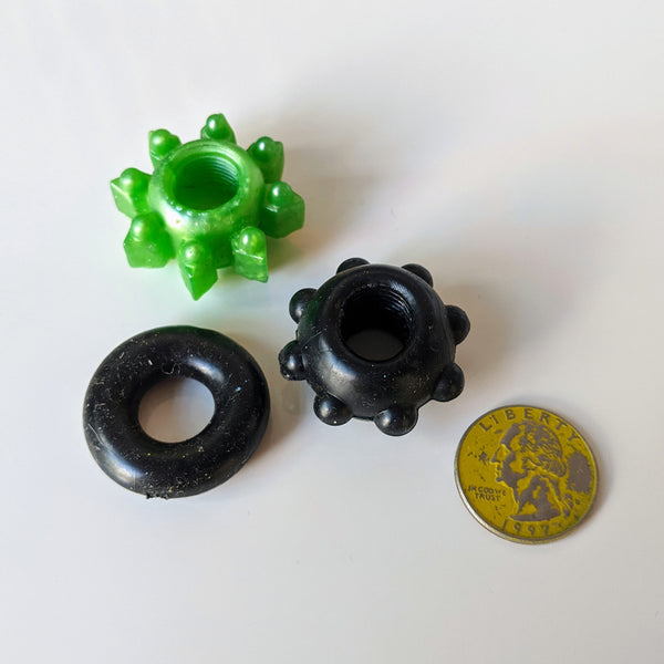 Three Stretchy Silicone Rings - Geared Up Pup